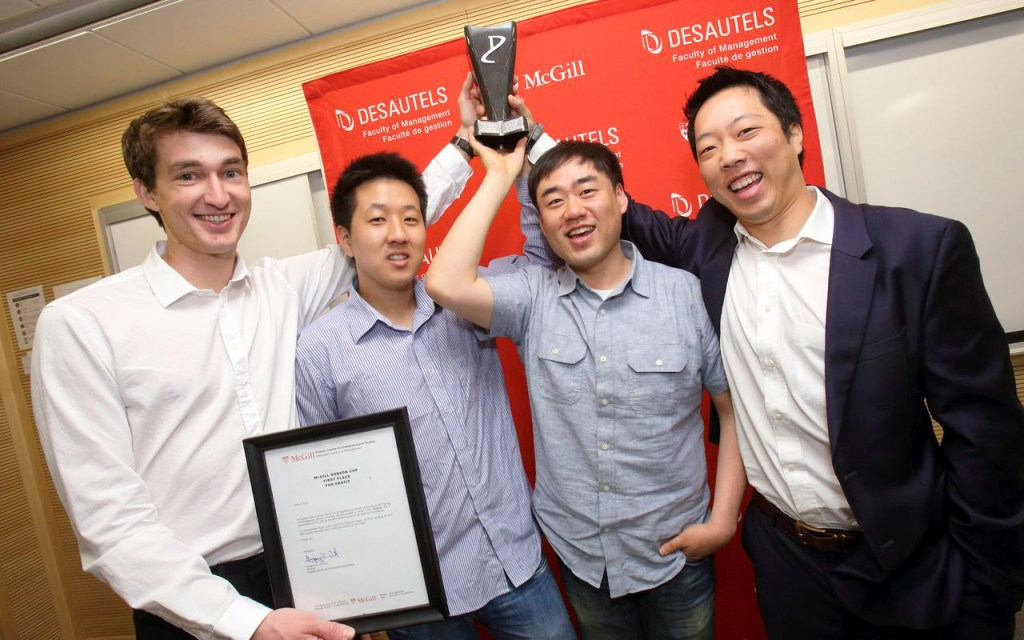 $100,000 McGill Dobson Cup returns for student startups