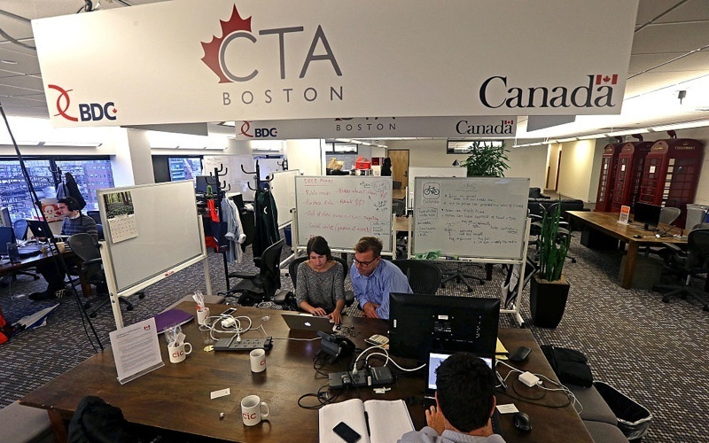 Canadian startups find that elusive handshake at CTA@Boston