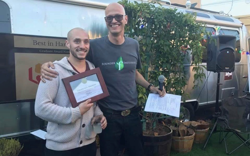 Hykso and Unito take home Founder Institute Global Graduate awards