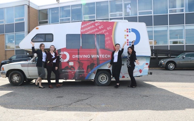 Driving WinTech stops in Montreal as part of its cross-country research initiative