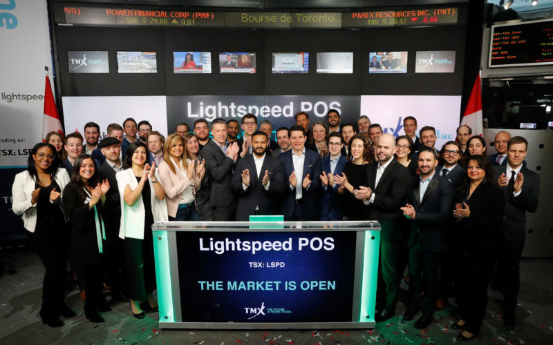 Shares of Lightspeed POS Rise Sharply on First Day of Trading
