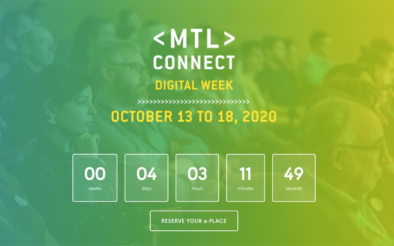 Upcoming tech events: MTL Connect, TechAide AI + AI4GOOD