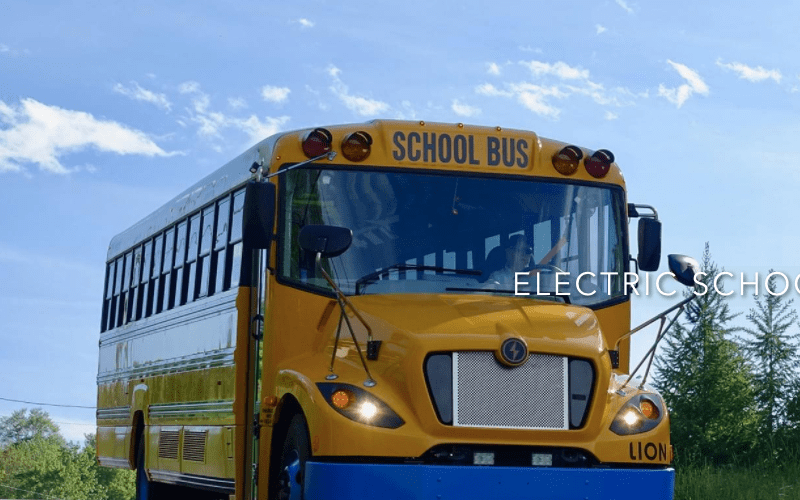 Lion Electric will build 10 electric buses for LAUSD