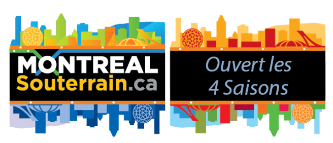 Montreal Souterrain durant les 4 Saisons