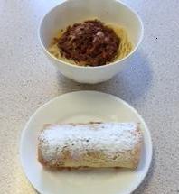 Home Economics plated food