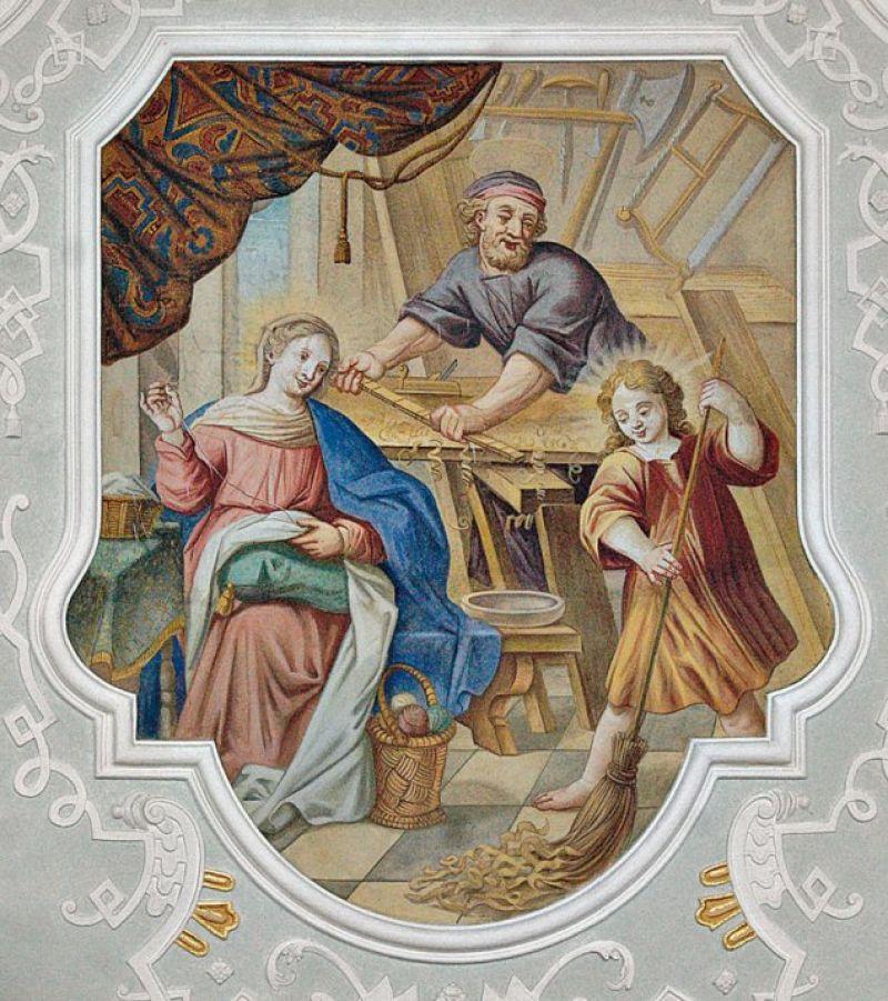 Der Heilige Josef In Der Kunst Monumente Online