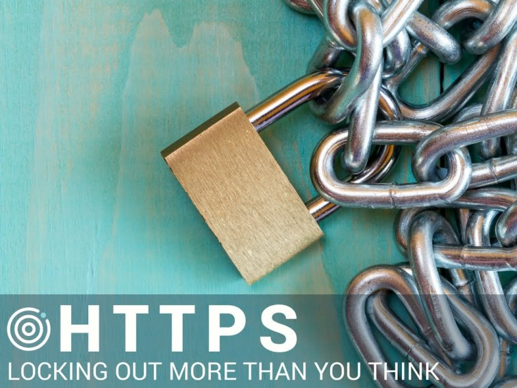UNLOCK YOUR AD POTENTIAL HTTPS has a minor effect on search rankings compared to th SSL Certificates and Digital Ads Don't Play Nice, Here's Why. UNLOCK YOUR AD POTENTIAL
