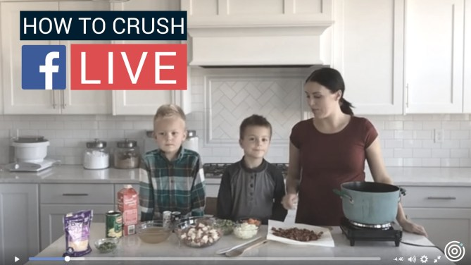live How to Crush Facebook Live facebook live