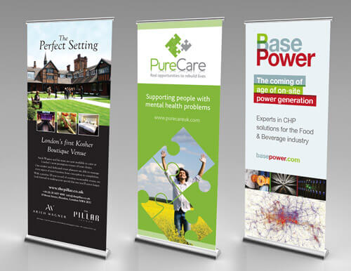 Roller Banners from Moo Creative