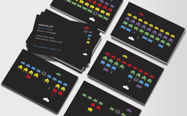 MOO Business Cards Software Developer Business Cards
