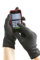 Der Handschuh für frierende Smartphonenutzer