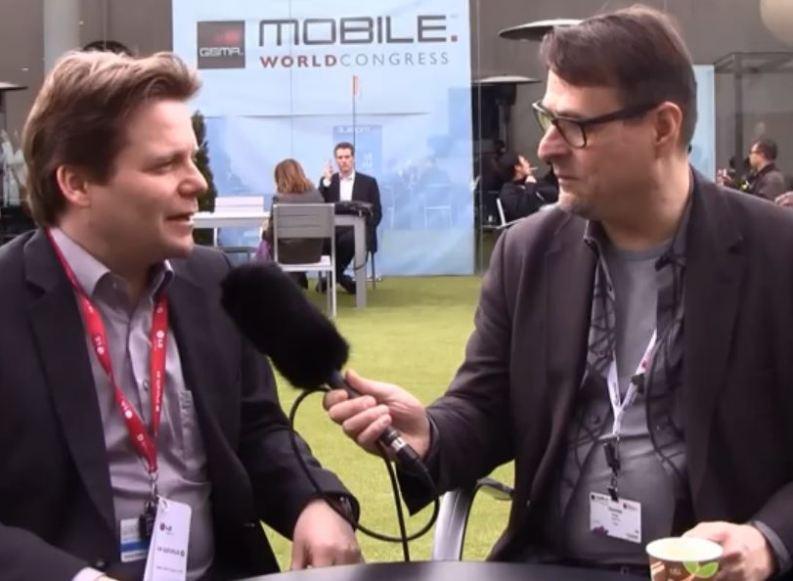 [Video] MWC13: Interview mit Christof Fromm von LG Deutschland