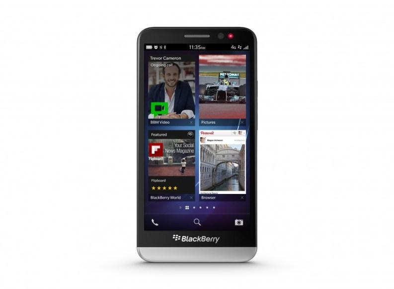 Blackberry präsentiert neues Smartphone Z30