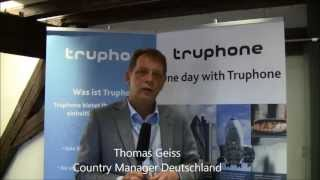 [Video] Interview mit Thomas Geiss von Truphone zum Start in Deutschland