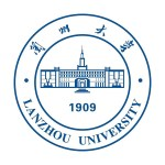 Logo der Lanzhou University in China.