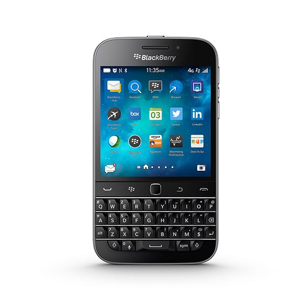 Der BlackBerry Classic ist Vergangenheit
