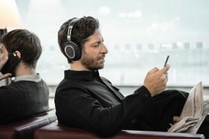 Der Sennheiser PXC 550 Wireless lässt sich per App steuern. (Foto: Sennheiser)