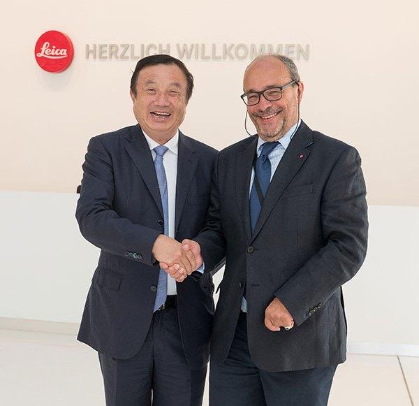 Leica und Huawei gründen Forschungs- & Innovationszentrum