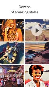 Prisma kann jetzt auch Video-Clips verschönern. (Bild: Prisma)