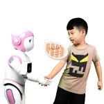 Der iPal-Bot für Mädchen ist pink. (Foto: AvatarMind)