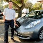 Strom-Tanken: Batteriebetriebene Fahrzeuge als günstigerer Weg zu grünerer Zukunft (Foto: Mark Shwartz, stanford.edu)