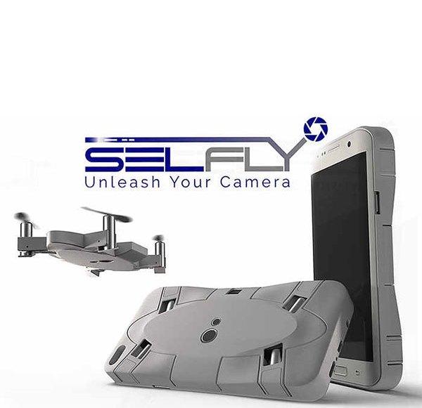 SelFly – die fliegende Smartphone-Hülle