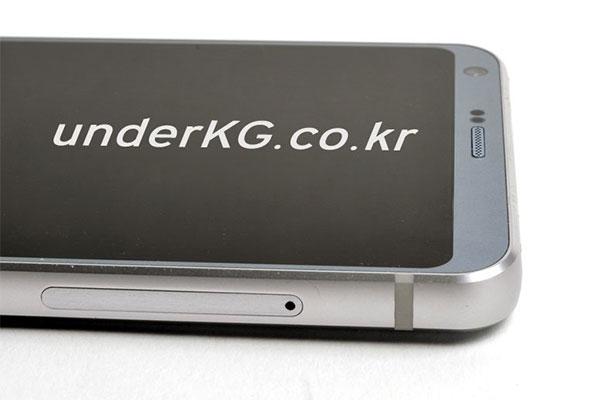 Die neuen Bilder des mutmaßlichen LG G6 liefern mehr Details. (Foto: underKG)