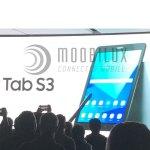 Mit dem Galaxy Tab S3 stellt Samsung ein neues Oberklasse Android-Tablet vor. (Foto: moobilux.com/tc)