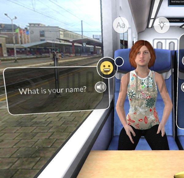 """Die App """"Mondly"""" lässt Nutzer virtuell Sprachen lernen"""