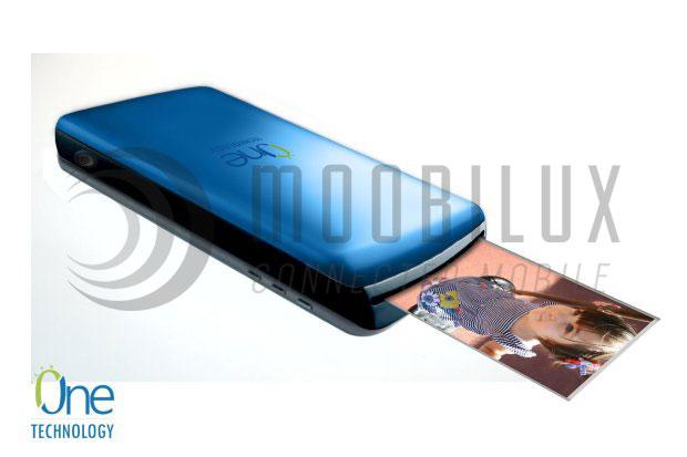 """Das Moto Mod """"Smart Z Printer"""" soll klein und kompakt aufs Moto Z passen. (Foto: Indiegogo / One Technologie)"""