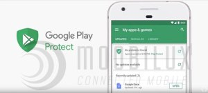 """Google """"Play Protect"""" soll Androidnutzer in Zukunft besser schützen. (Bild: Google)"""