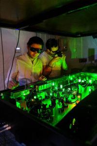 Forscher Elias Kristensson und Andreas Ehn. (Foto: Kennet Ruona)