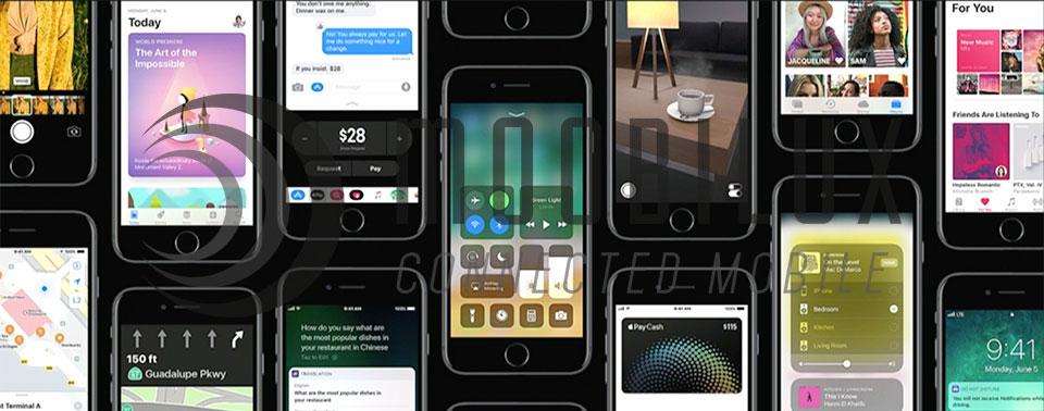 Apple stellt zm WWDC 2017 sein neues iOS 11 vor. (Bild: Apple)