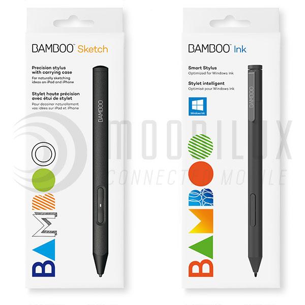 Der Bamboo Sketch und der Bamboo Ink. (Bild: Wacom)