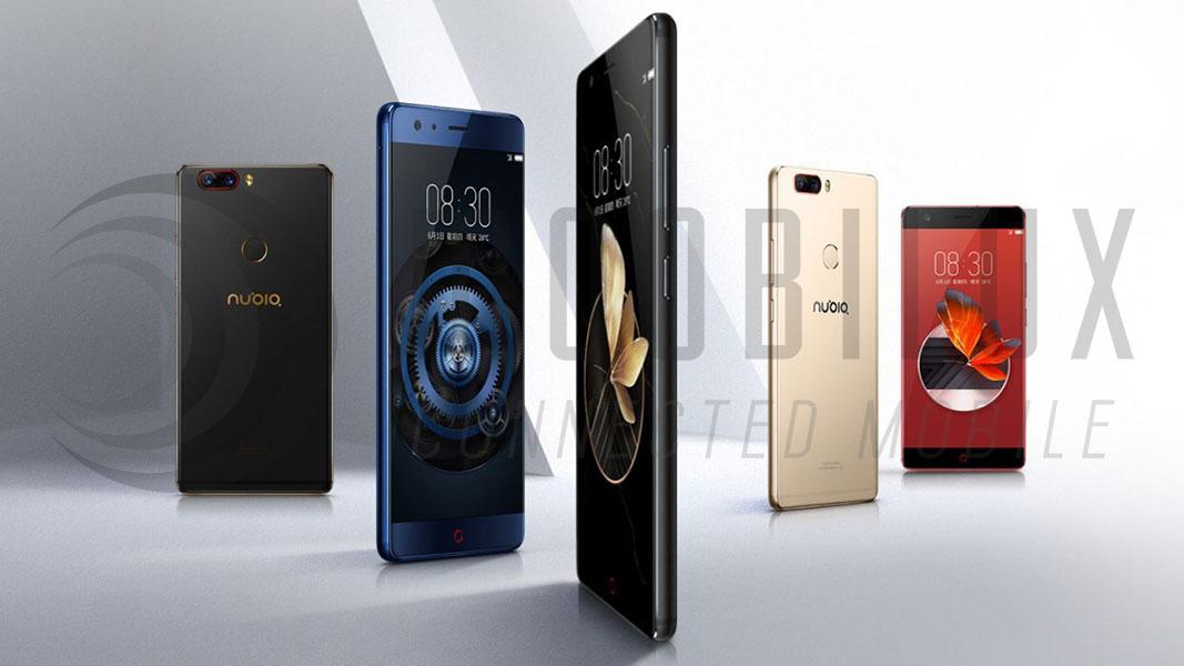 Das Smartphone ist in China in den Farben Blau, Rot, Gold und Schwarz/Gold erhältlich. (Bidl: Nubia)