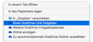 New OneDrive version for Mac has finder integration
