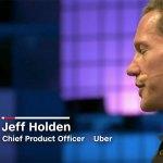 """Uber-CPO Jeff Holden stellte auf dem WebSummit 2017, das Projekt """"Flying-Car"""" vor."""