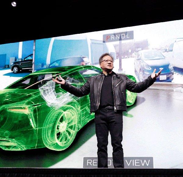 Nvidia Prototyp steuert Auto via VR-System