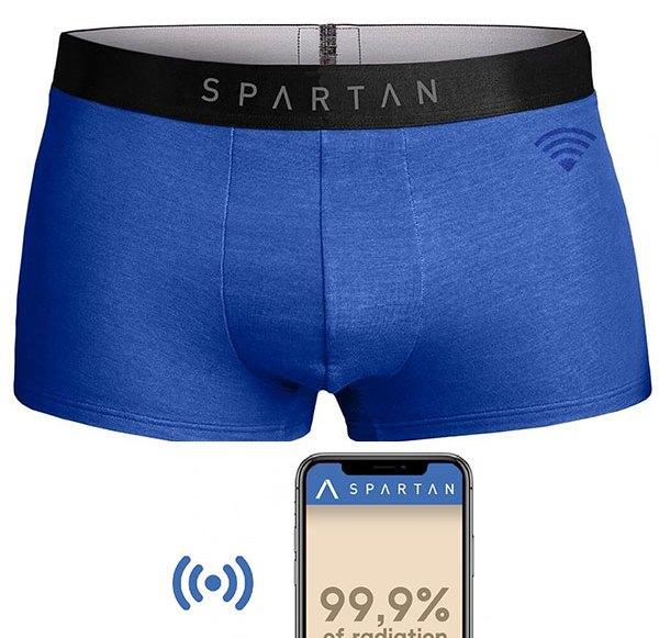 Schützende Unterhose für den Mann
