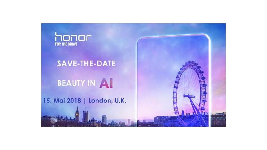 Honor lädt zu einer Pressekonferenz am 15. Mai 2018 nach London. (Grafik: Honor)