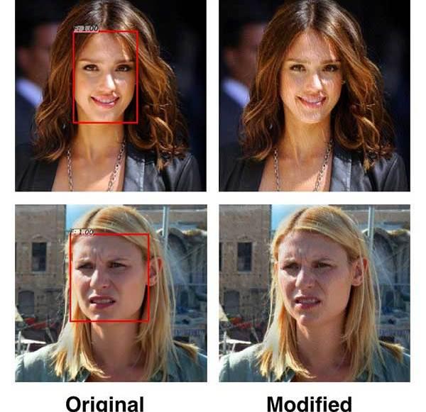 Filter sollen Personenfotos vor Gesichtserkennung schützen