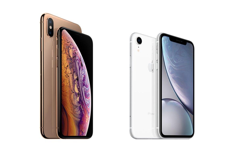 "Das ""neue"" Apple iPhone 10s und iPhone 10s Max samt iPhone 10r. (Bild: Apple)"