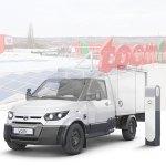 Bosch und Toom wollen die Vermietung des elektrischen Streetscooters an Baumärkten testen. (Bild: Toom / Streetscooter)