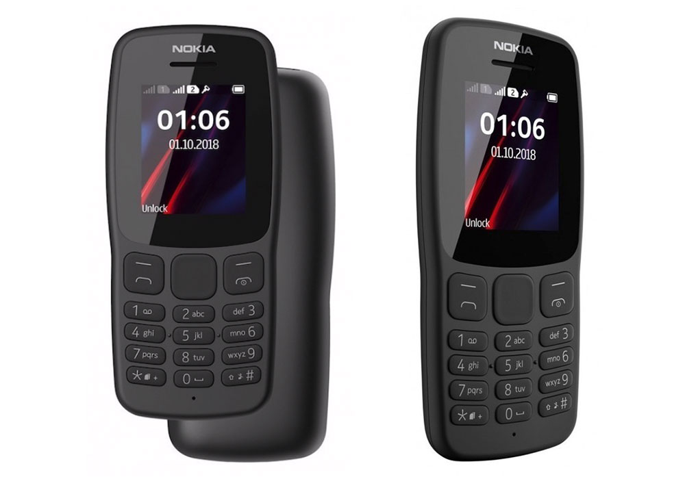 Das überarbeitete Nokia 106. (Bild: HMD Global)