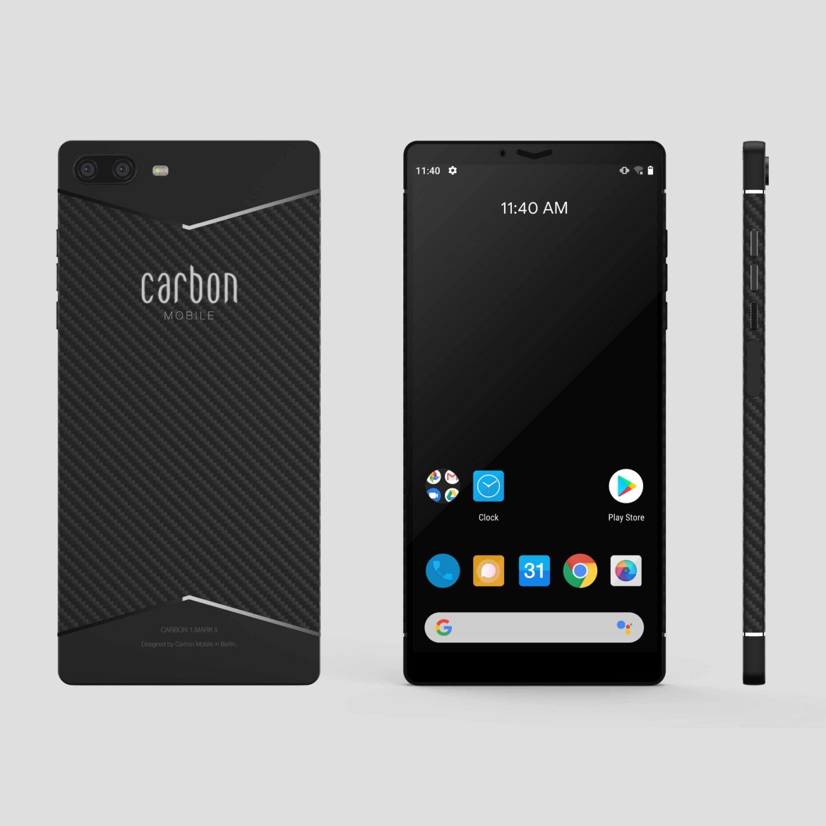 Carbon 1 Mark II in Berlin vorgestellt. (Bild: Carbon Mobile)