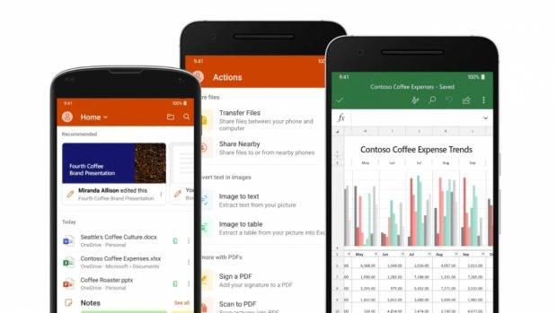 Microsoft stellt neue Office-App für Android und iOS vor. (Bild: Microsoft)