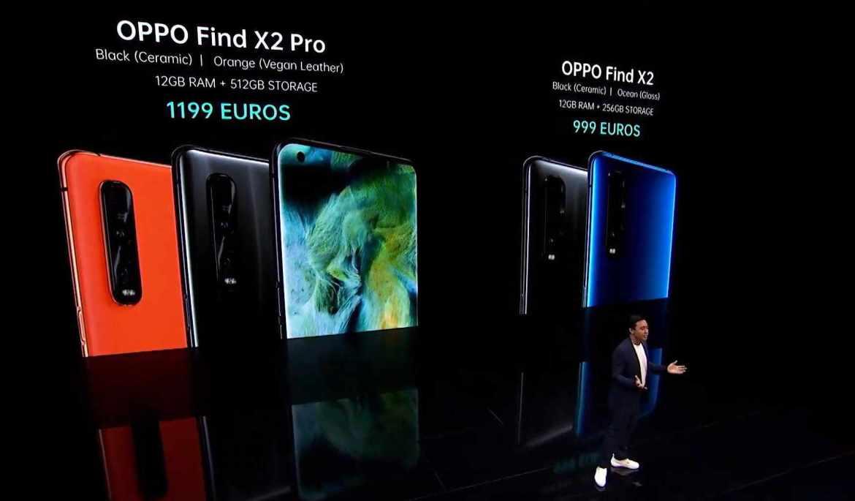 Preis & Verfügbarkeit des Oppo Find X2 Pro und Find X. (Bild: moobilux.com)