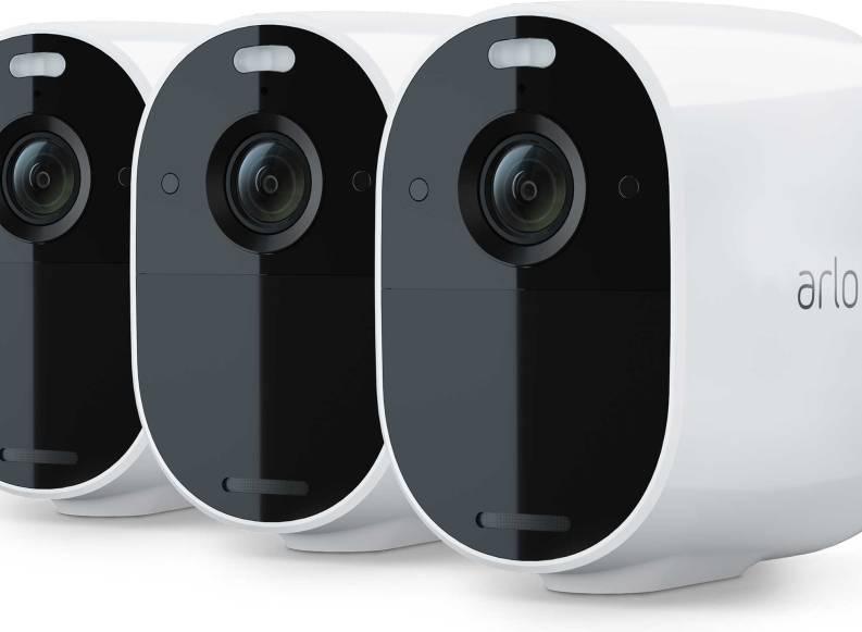 Arlo stellt kabellose Überwachungskamera Essential Spotlight vor