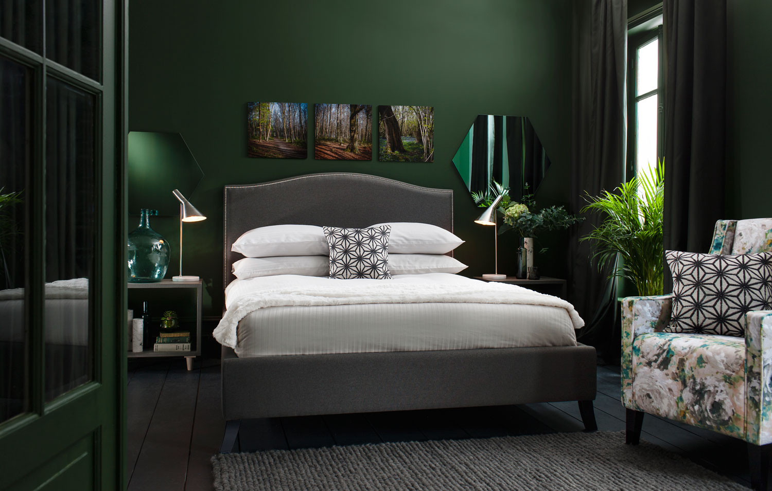 Luxury Bedroom Furniture Green Bedroom Sophisticated Mood