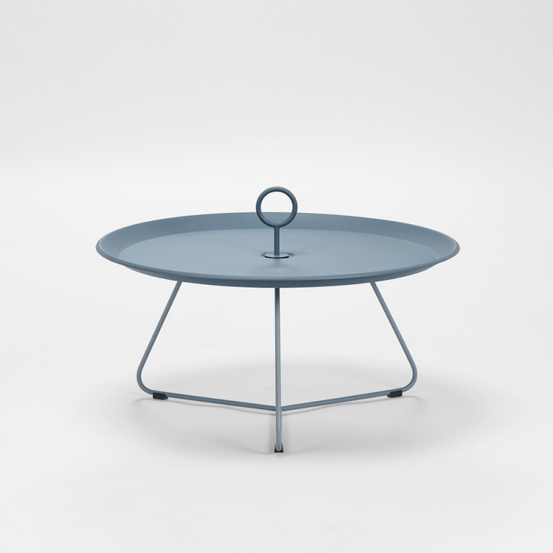 eyelet table d appoint exterieur dark grey dia 70 cm